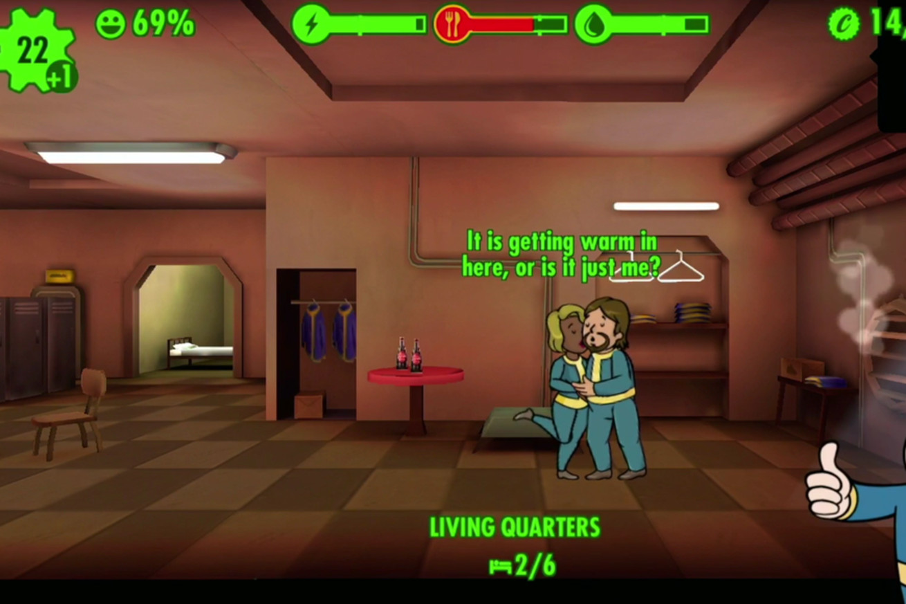 fallout shelter is coming to the nintendo switch and playstation 4 tonight