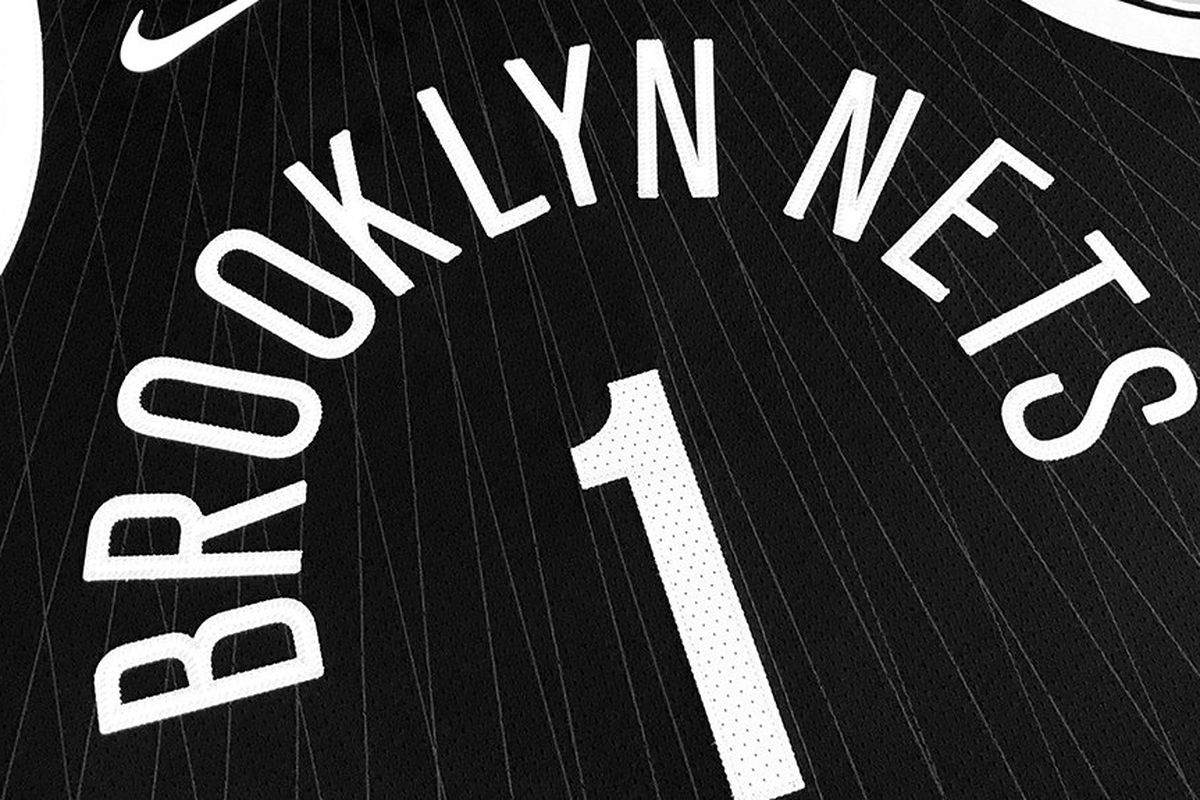 "ef84d763fea0 The Brooklyn Nets and and Nike have revealed the brand new ""City Edition""  jersey. The design was inspired by the Brooklyn bridge."