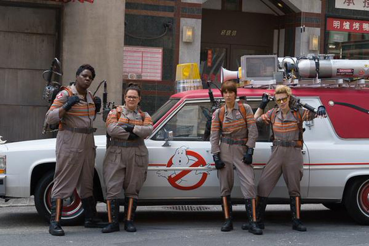 the best thing about post halloween twitter this year is the wealth of ghostbusters costumes and the best thing about these costumes theyre being worn by