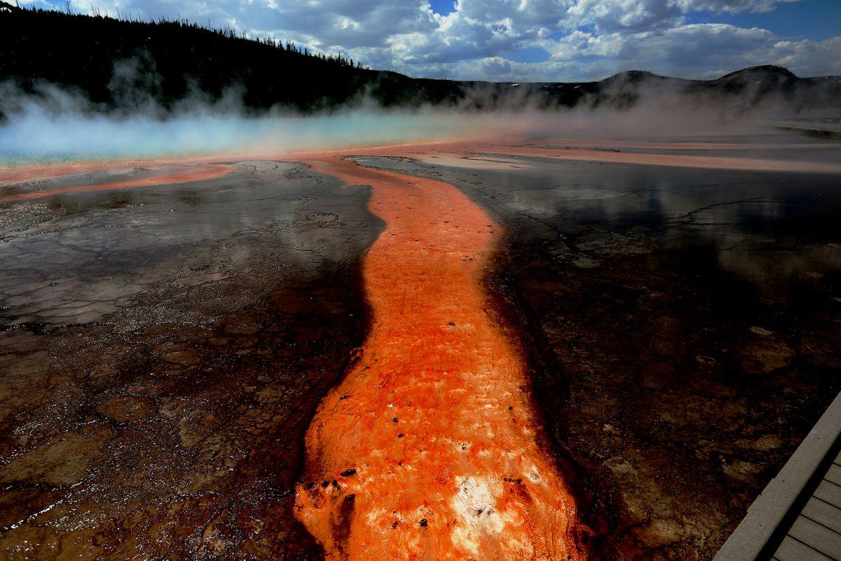 USA: Travel: Yellowstone National Park