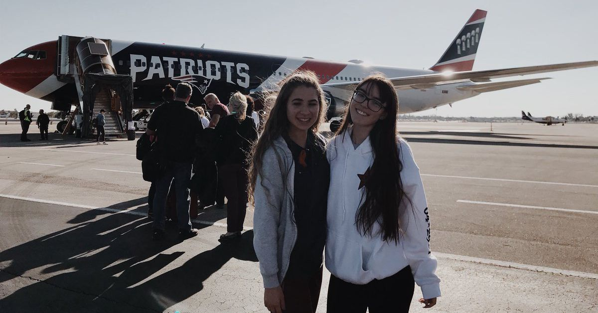 Patriots lent their private jet to Marjory Stoneman Douglas students attending 'March for our Lives'
