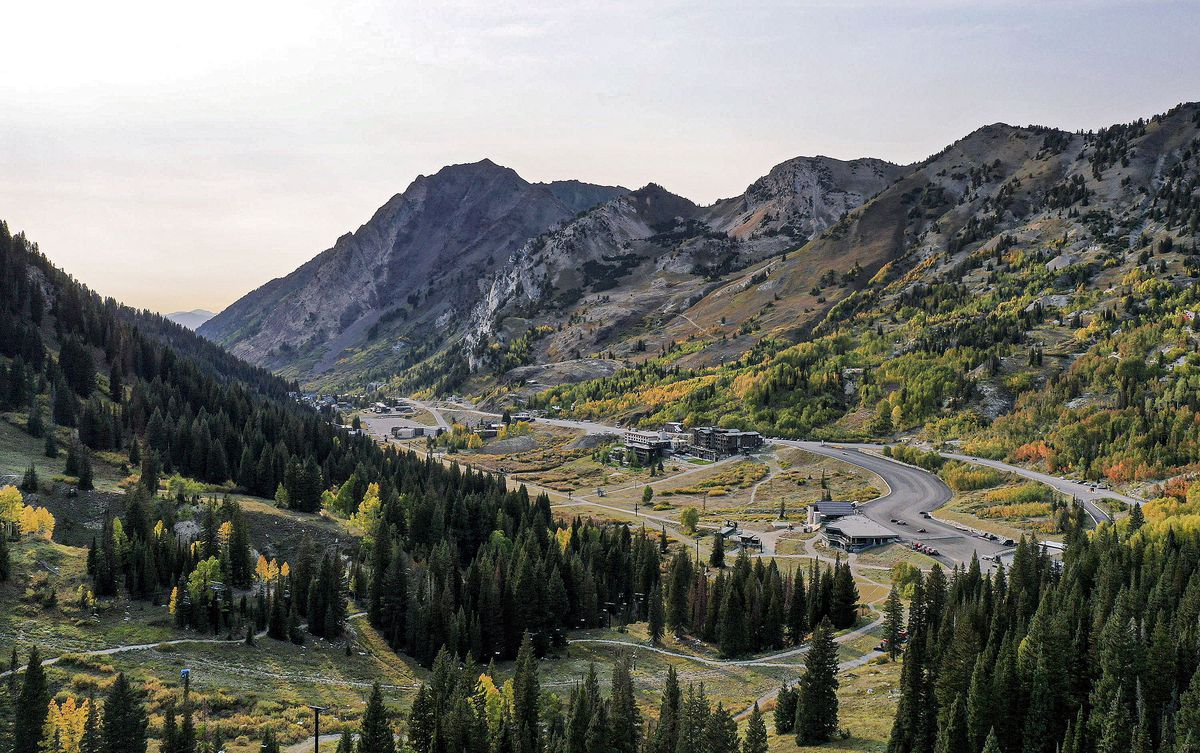Alta and the top of Little Cottonwood Canyon are pictured on Wednesday, Sept. 22, 2021.
