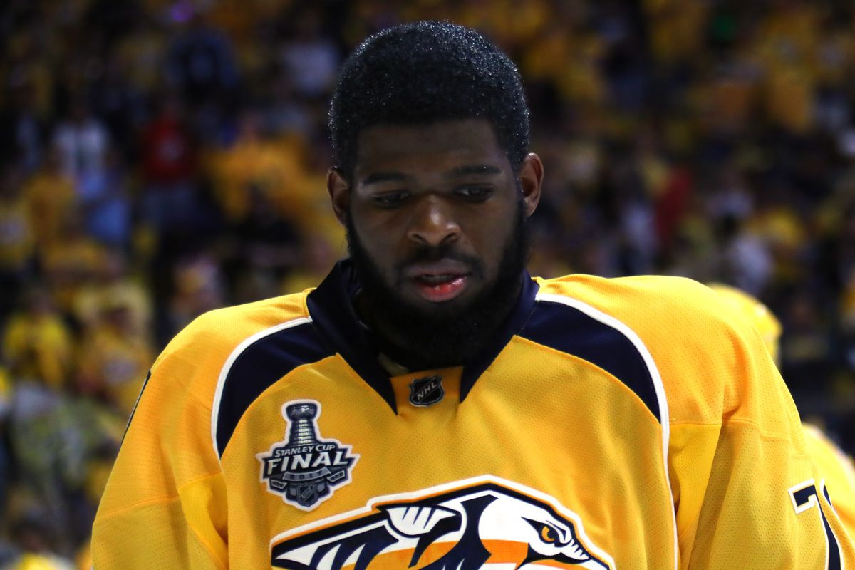 f5d655ade P.K. Subban told fans he would 'never' kneel during national anthem ...