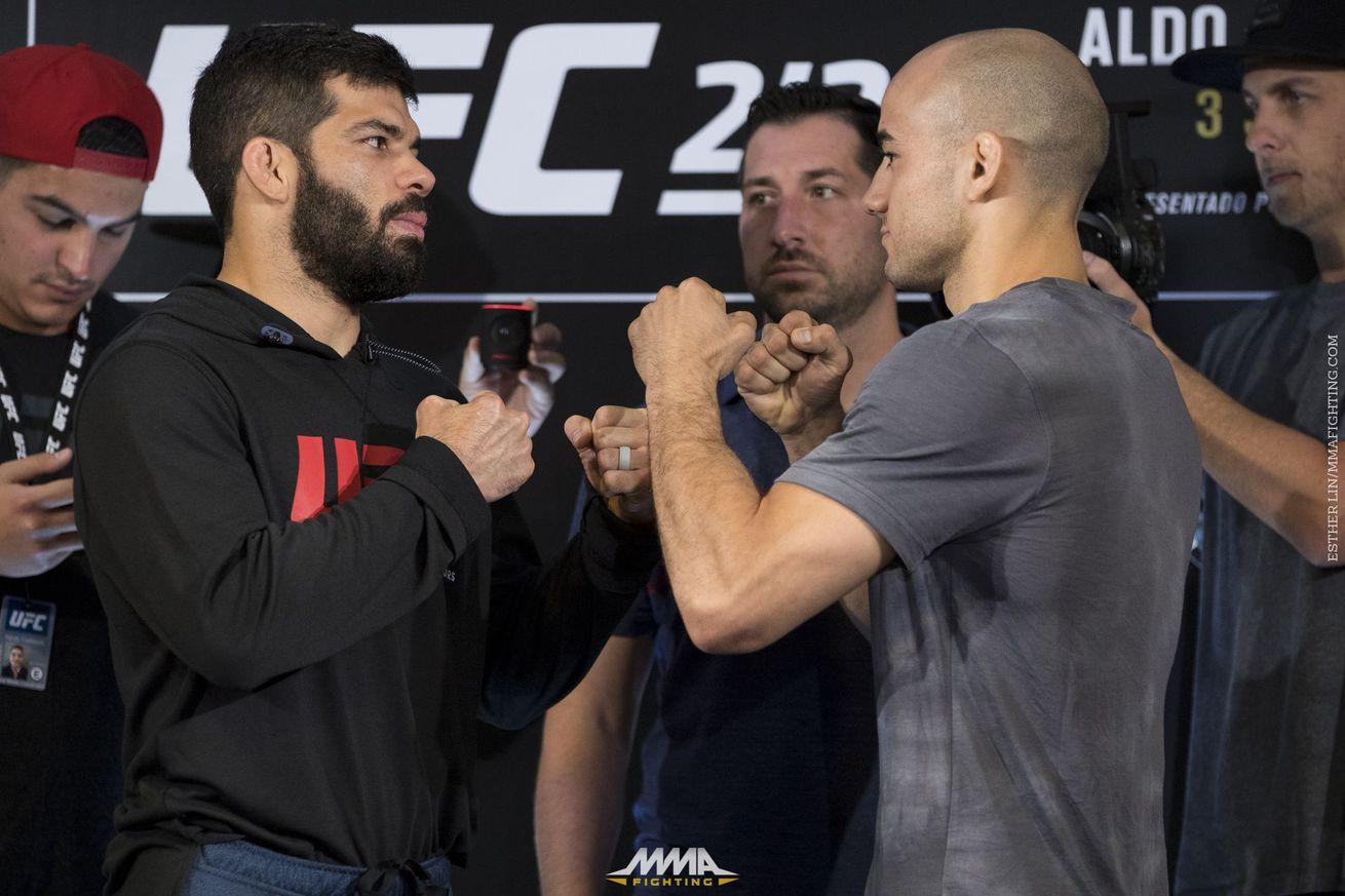 Assuncao and Marlon Moraes