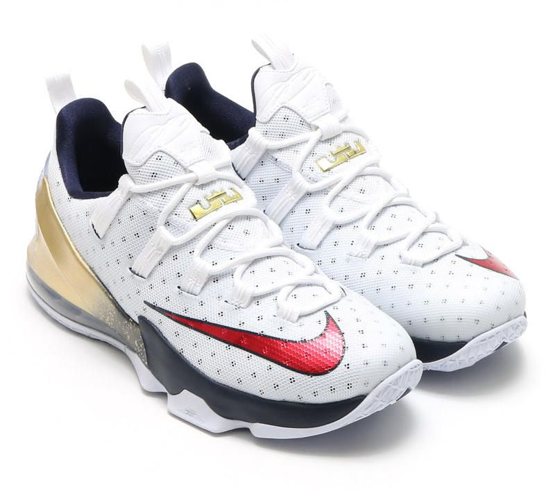 "2b8000860b3 Cavs Kicks  ""Olympic"" Nike LeBron 13 Low - Fear The Sword"