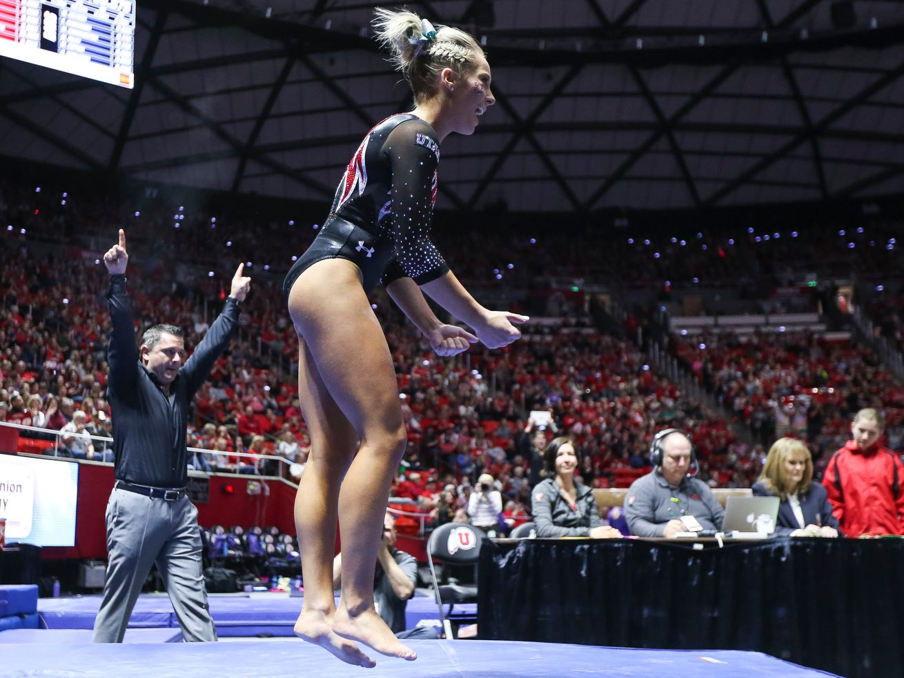 'I definitely do want to win a national championship': MyKayla Skinner excited about the future of Utah gymnastics