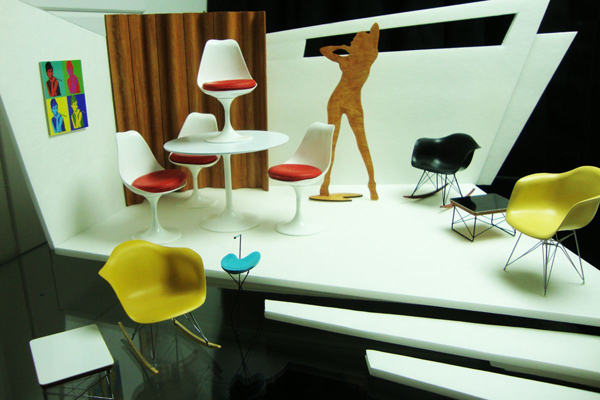 miniature designer furniture. Yurkovic Also Creates Vignettes And Room Boxes. All Photos Courtesy Of Michael Miniature Designer Furniture A