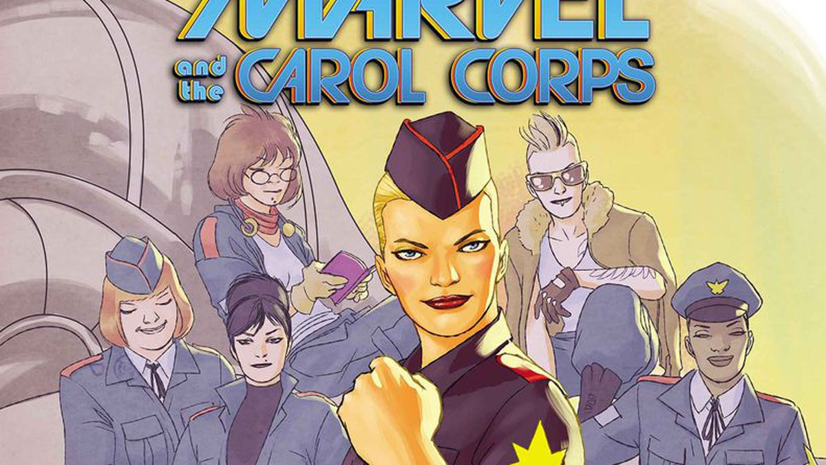 Captain Marvel Porn Comic how the 'carol corps' fandom shook the comics industry - polygon