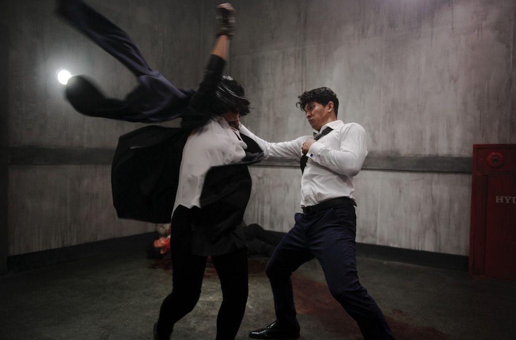 the night comes for us action scene