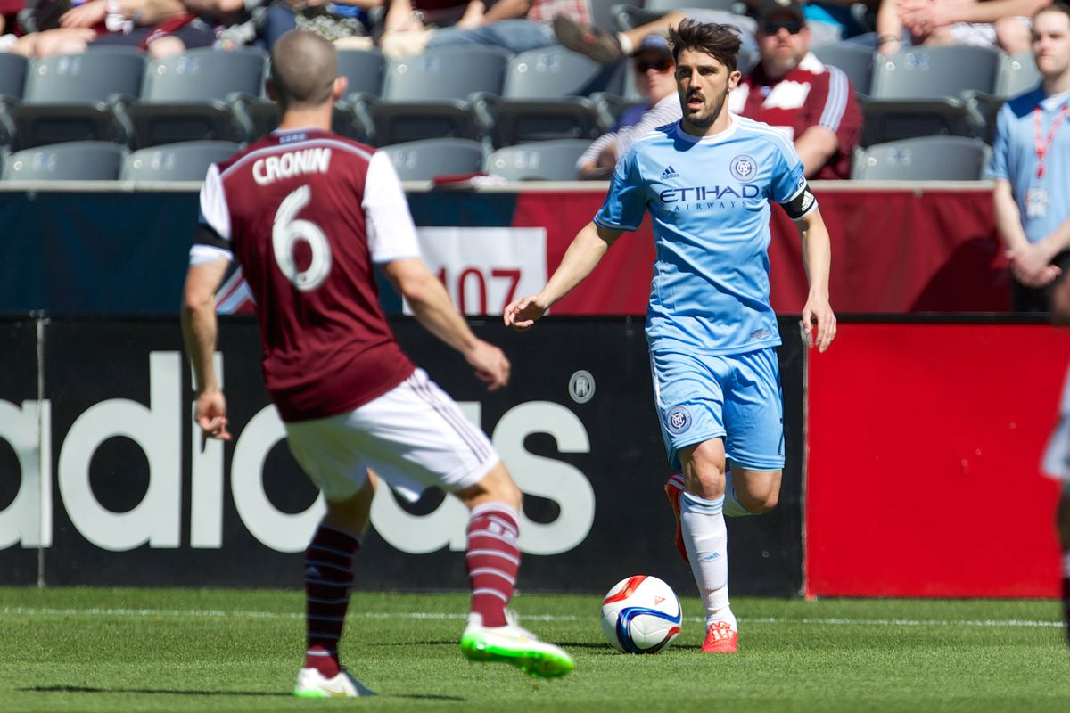Keep the ball away from David Villa and the Union may have a chance.