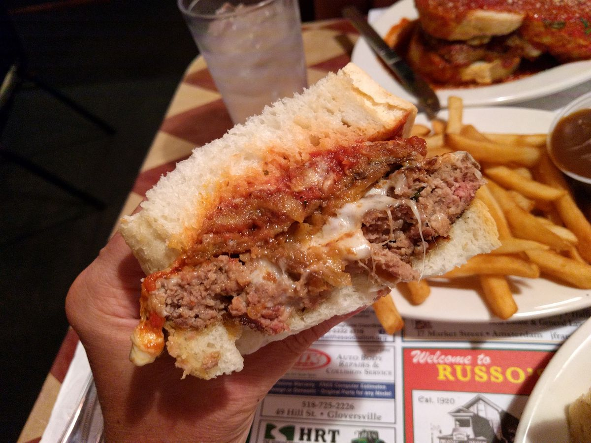 Genco Burger at Russo's Grill