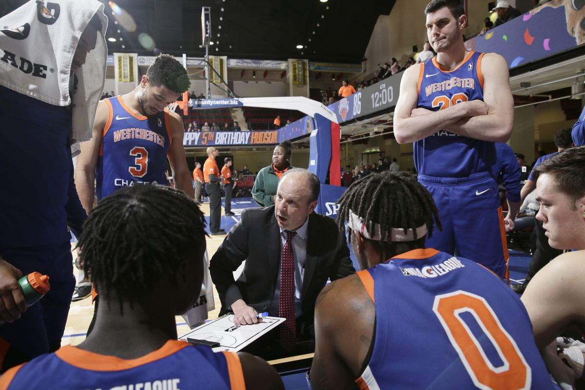 Canton Charge v Westchester Knicks