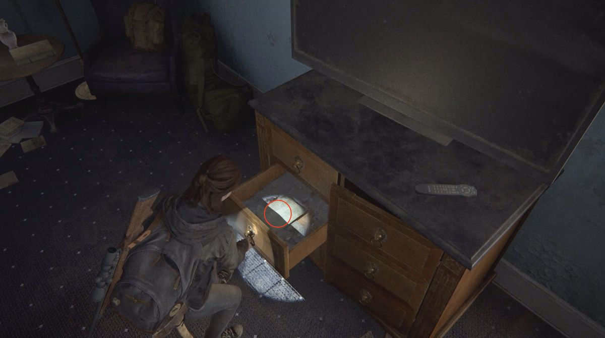 WLF Recruiter Journal Artifact collectible The Last of Us Part 2 Seattle Day 1 (Ellie)