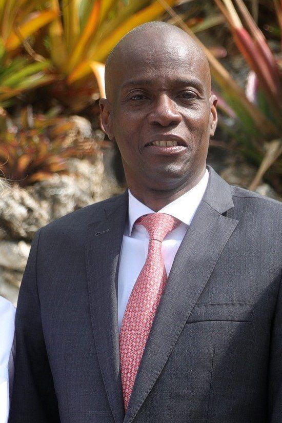 Haitian President Jovenel Moïse in 2019.