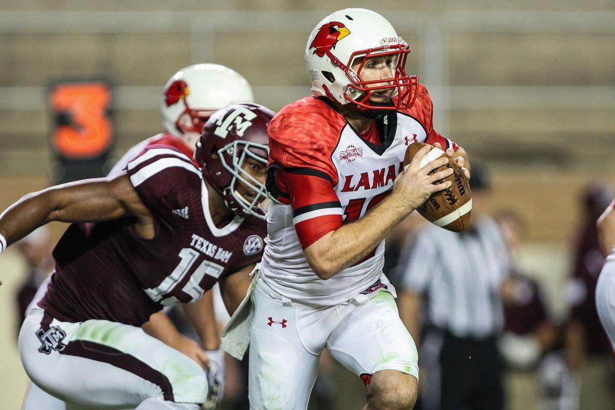 Lamar has seen enrollment increase since adding football.