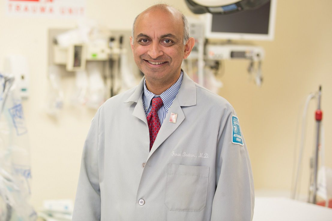 Dr. Faran Bokhari. | Stroger Hospital