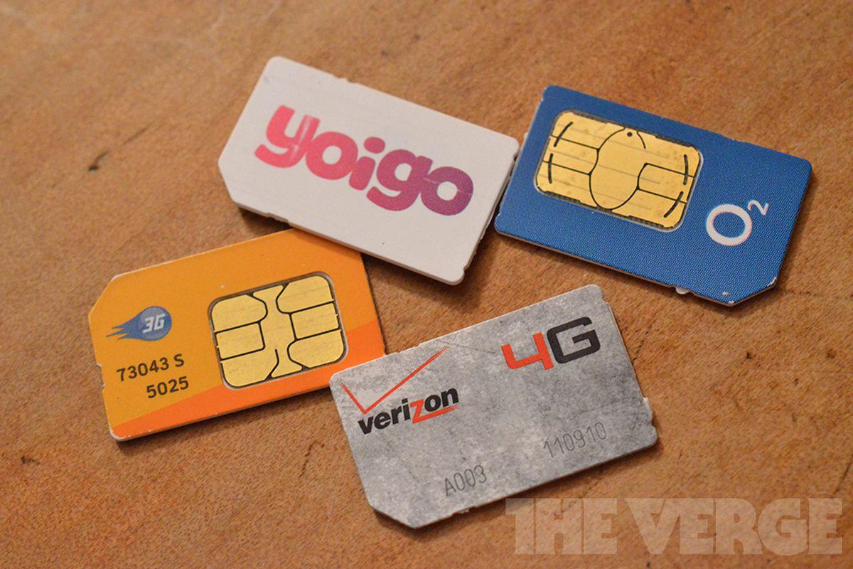 SIM Cards international travel (1020)