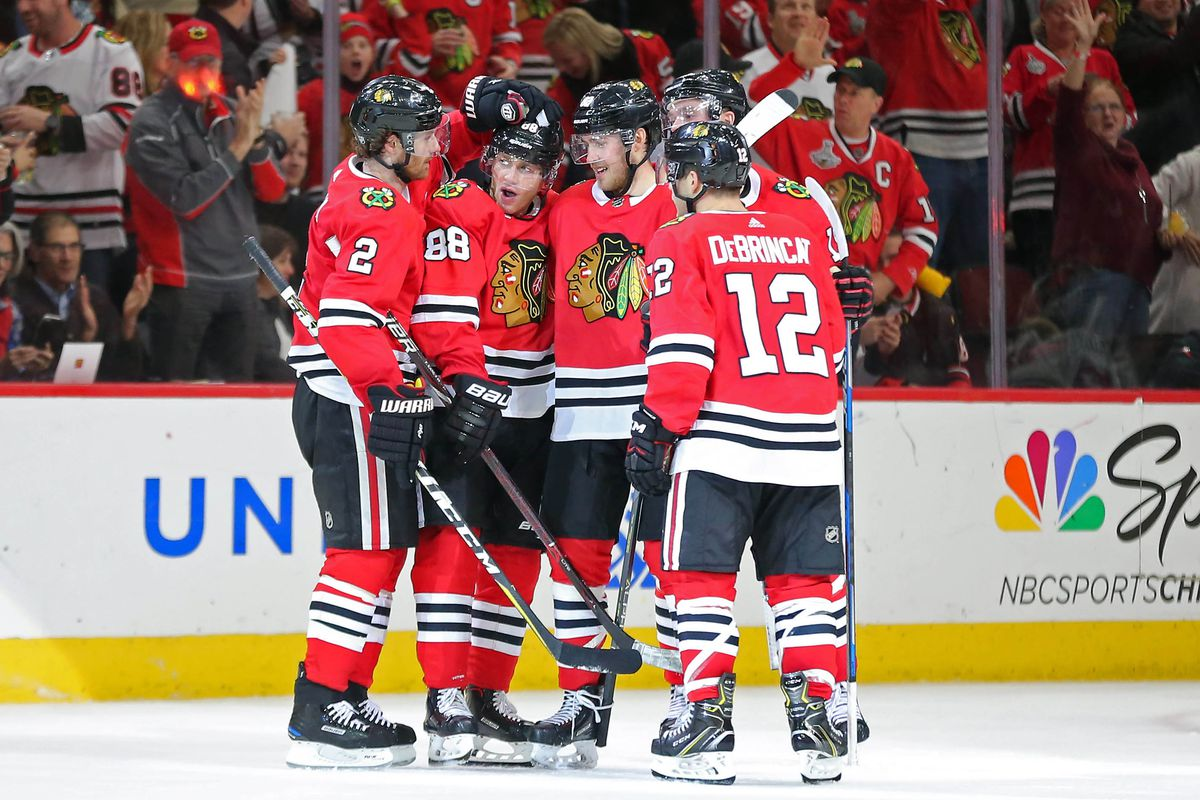 blackhawks get nhl-high 19 national tv appearances 2018-19 season
