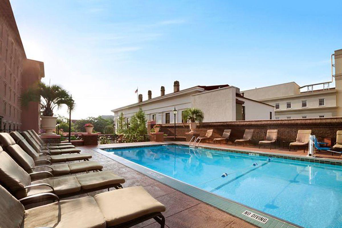Future home of The Pool Bar.