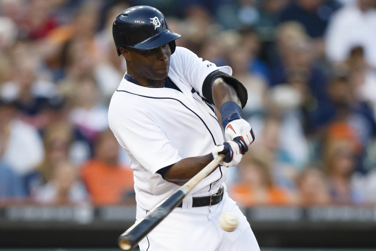 Torii Hunter got the scoring started against the Twins. Sigh. *Looks for flask*