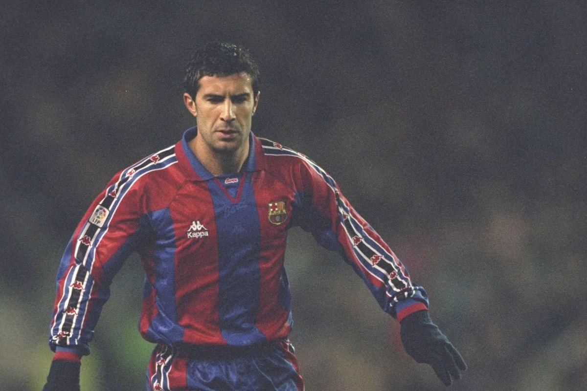 The Story of Luis Figo Barcelona Hero Turned Public Enemy 1