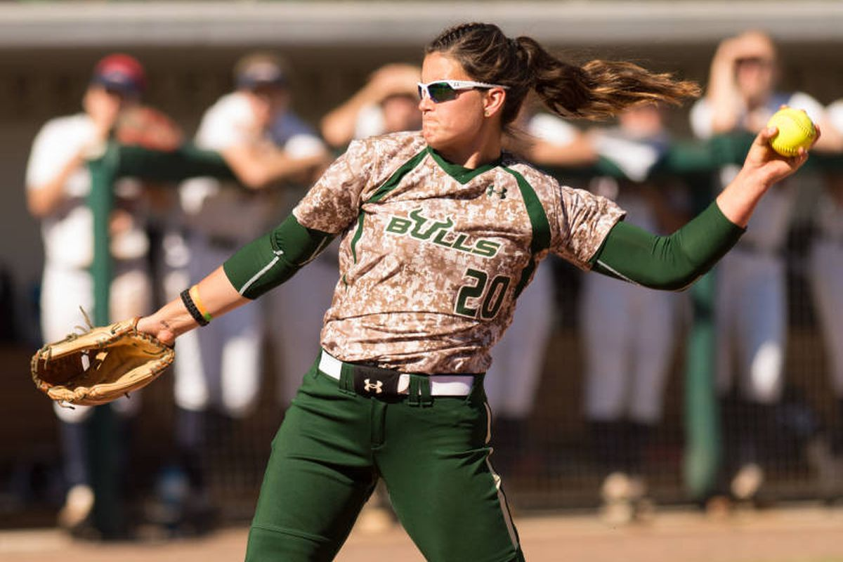 Erica Nunn is the AAC Pitcher of the Year