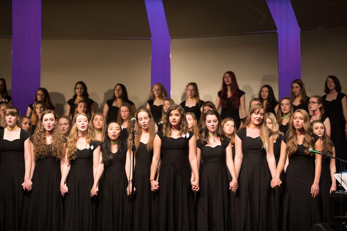 The choir at Arvada West High School in Colorado has commissioned and performed two songs about school shootings in an effort to help students process their fear.