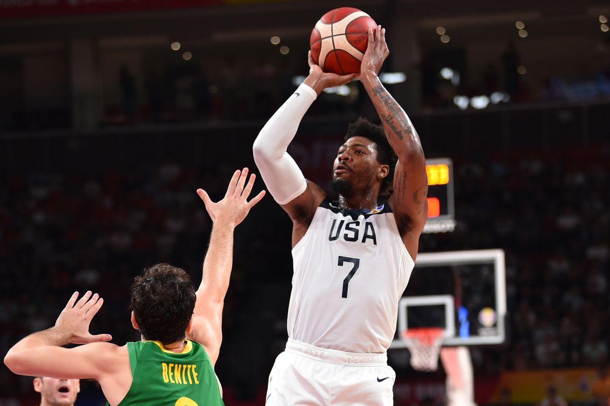 FIBA World Cup - Brazil v USA