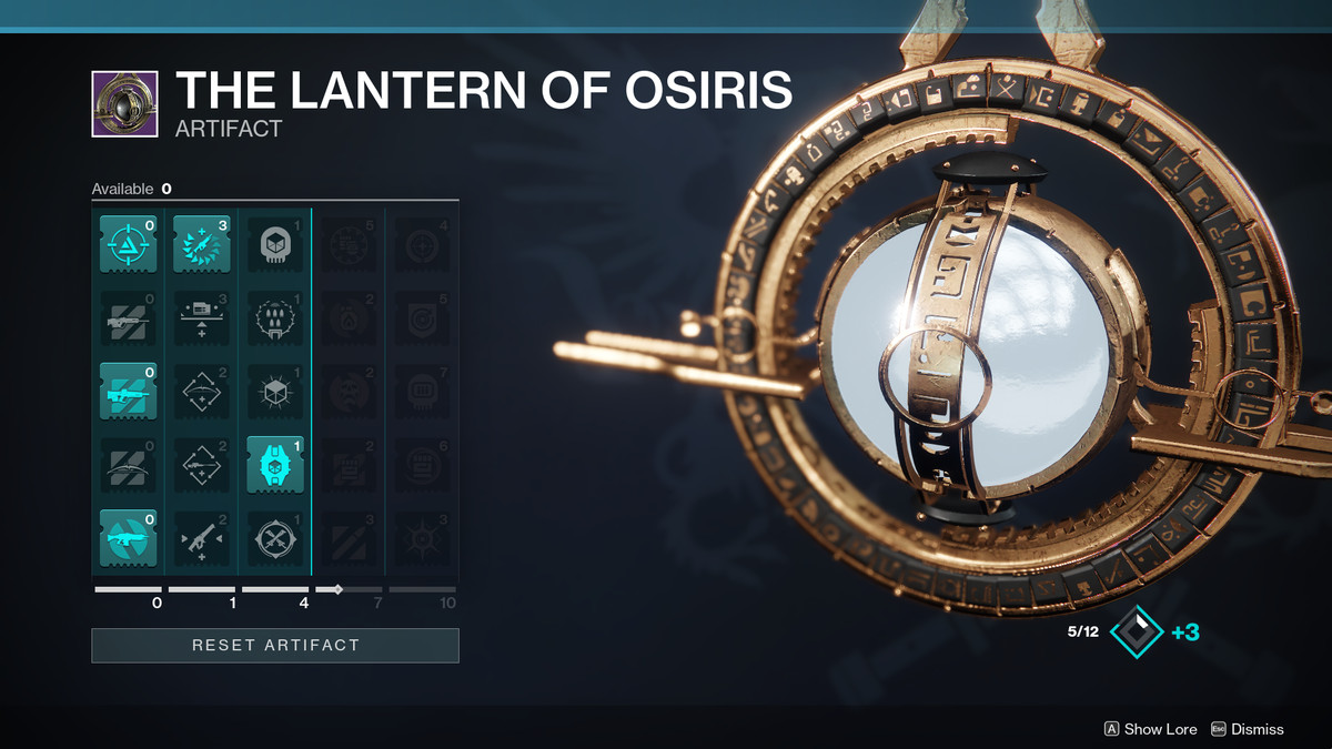 Destiny 2: Season of Dawn guide: The Lantern of Osiris