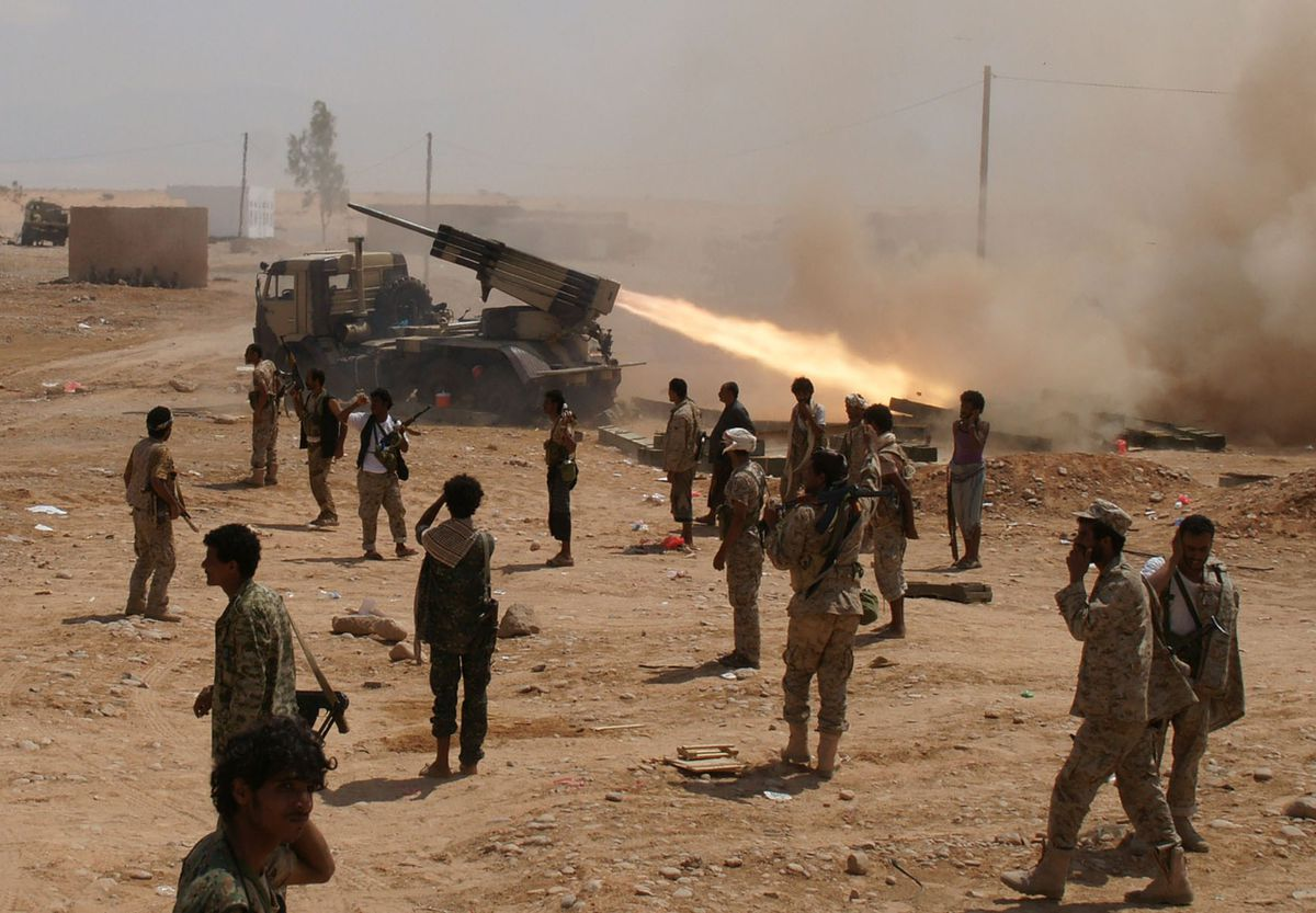 yemeni soldiers yemen AQAP