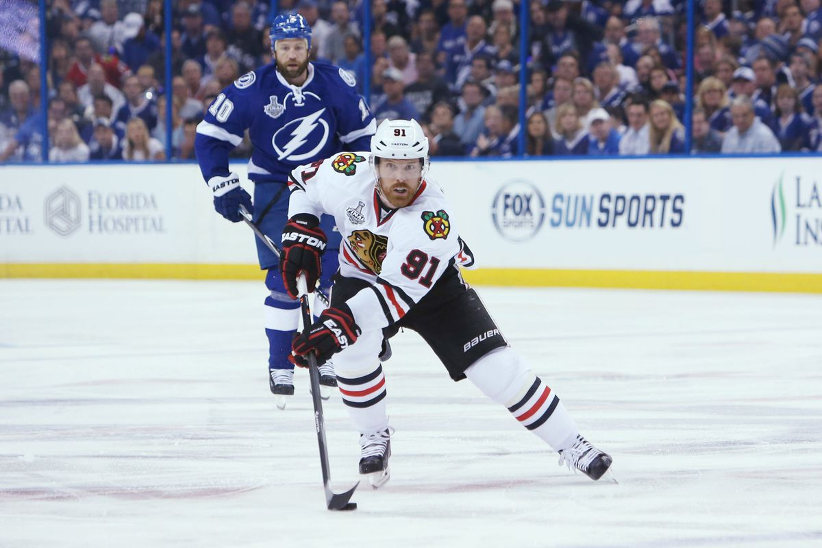 Brad Richards is a proponent of hockey in the Tampa Bay area.