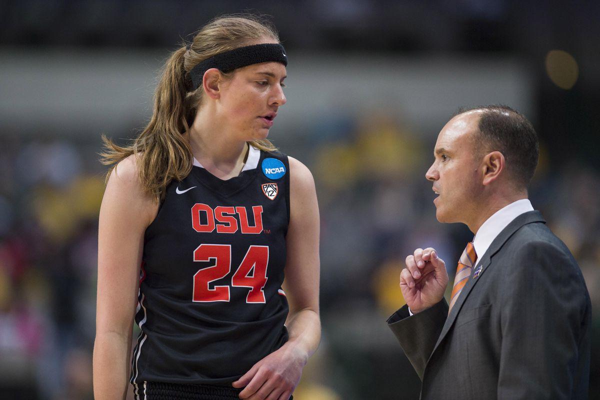 NCAA Womens Basketball: NCAA Tournament-Dallas Regional-Baylor vs Oregon State