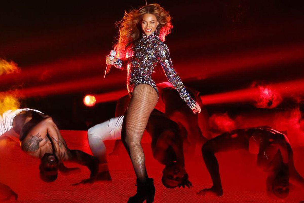 At the VMAs, via Getty Images