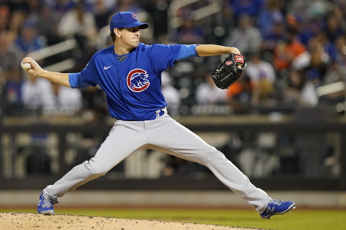 """""""I think Kyle [Hendricks] is the story of the day,"""" Cubs manager David Ross said. """"He's the backbone of our rotation. It's starting to be that win day when he pitches."""""""
