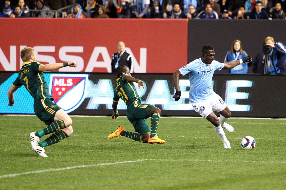 Kwadwo Poku on the ball
