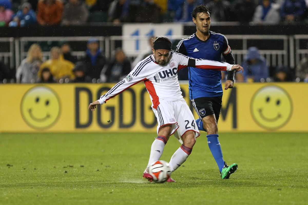 The Revs will play their fourth game of the 2015 season against San Jose, just like they did in 2014.