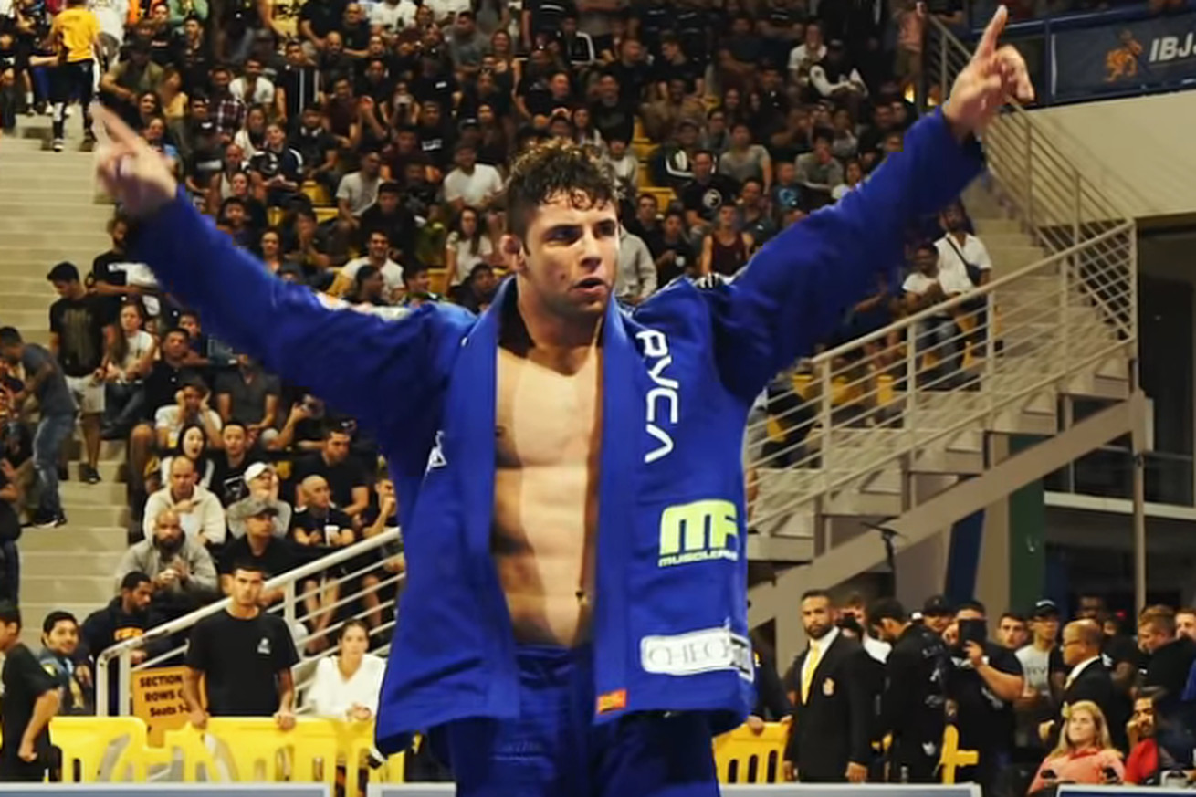 Buchecha made history at the 2018 IBJJF World Championships by becoming the only 11x World Champion.