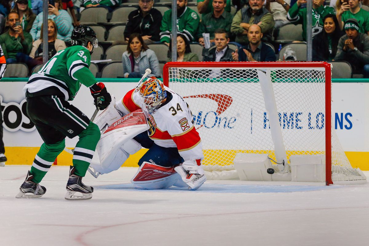 NHL: OCT 04 Preseason - Panthers at Stars