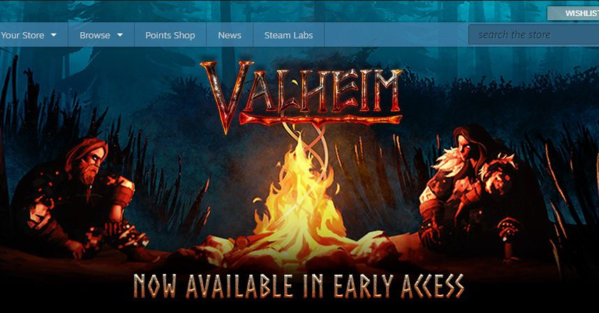 Valheim is Steam's hottest new PC game, and it struck like a bolt from the blue - The Verge