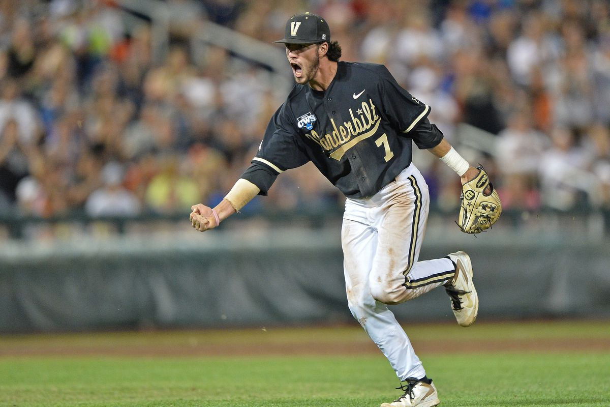 Dansby Swanson leads the Vanderbilt Commodores