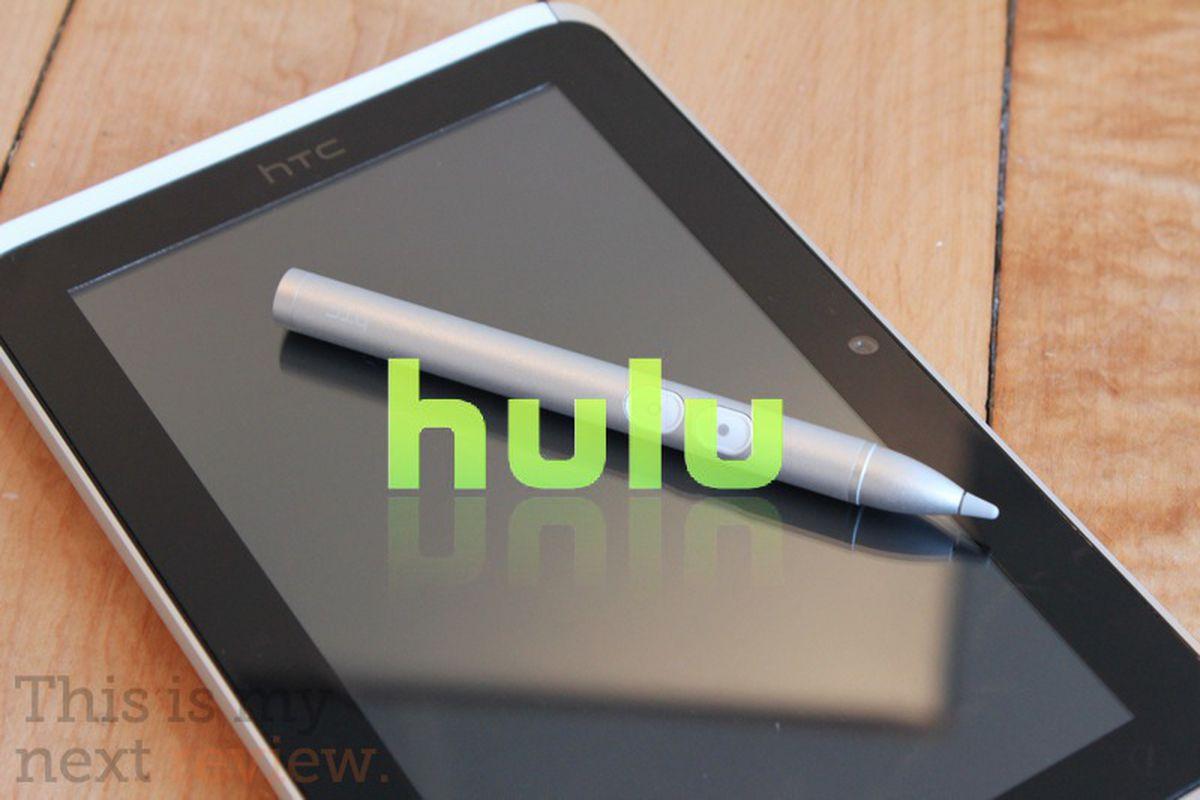 HTC Flyer Hulu