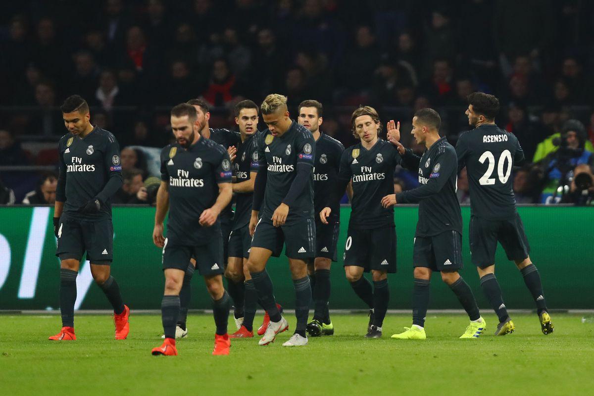 c2c1440d656 Champions League Player Ratings  Ajax 1-2 Real Madrid - Managing Madrid