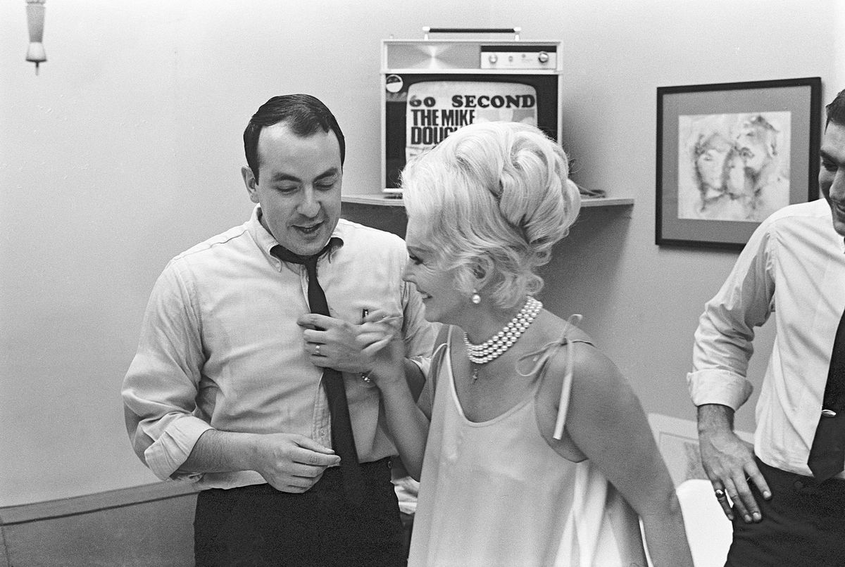 Ailes with Zsa Zsa Gabor in 1967.