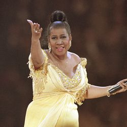 Aretha Franklin performs at the inaugural gala for President Bill Clinton in 1993. | AP Photo/Amy Sancetta