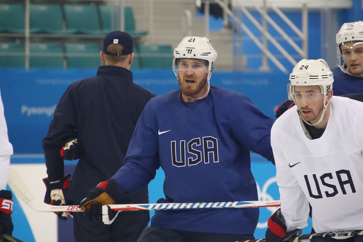 Slovenia stuns United States in Olympic hockey opener