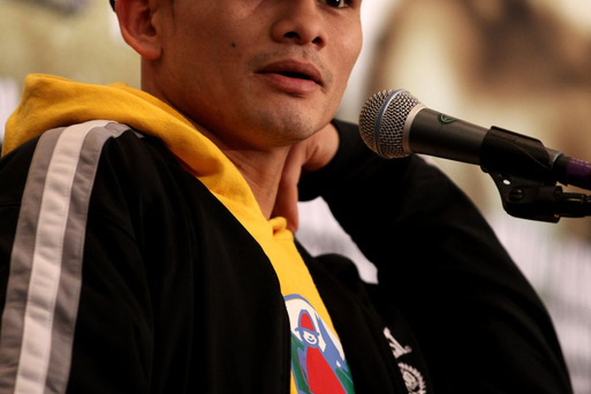 Marcos Maidana wants to fight soon, and could be back on September 16. (Photo by Scott Heavey/Getty Images)