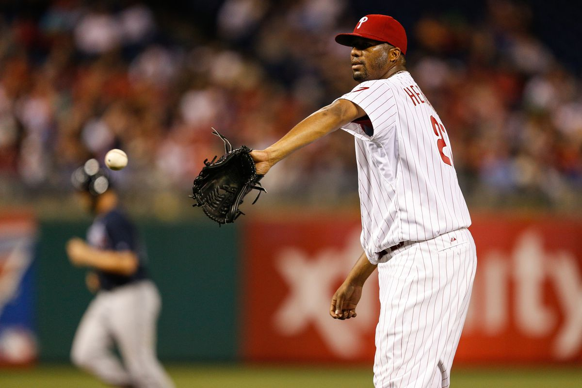 Once again a Phillies starter failed to go more than six innings last night.