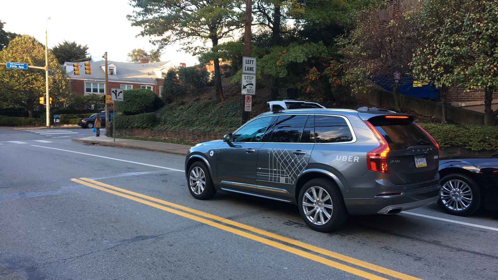 Uber S New Self Driving Volvo Suvs Have Been Spotted In Pittsburgh