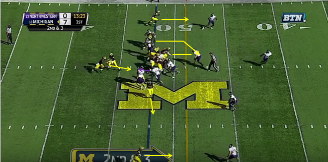 FF - Northwestern - Smith - 18-Yard Run - 2