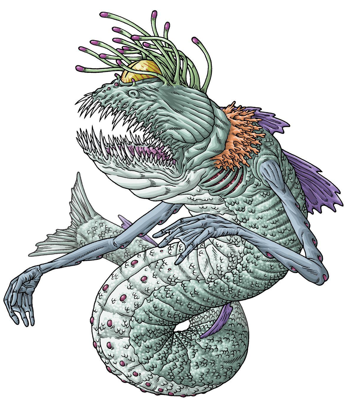 HP Lovecraft's Dagon
